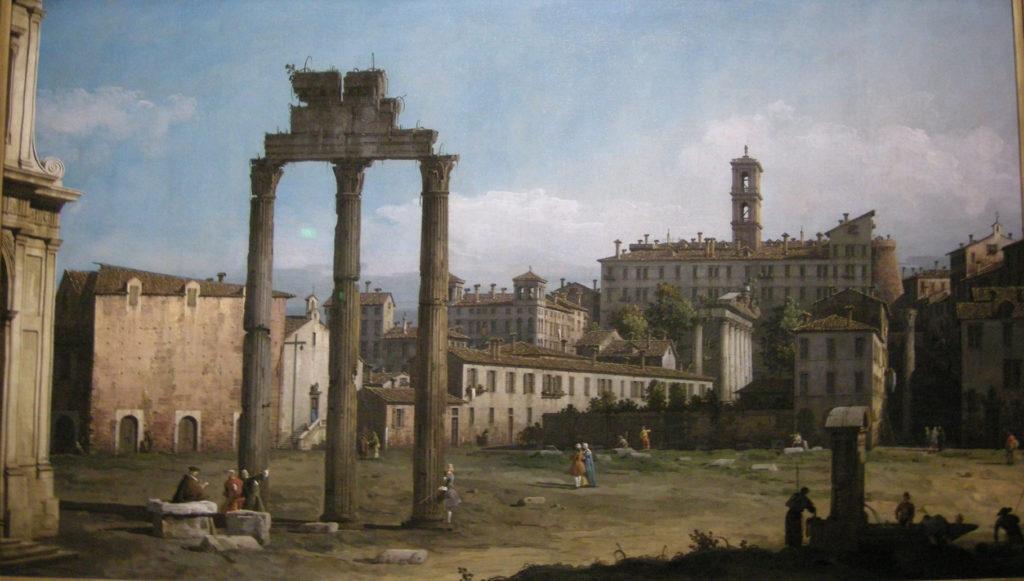 Bernardo Bellotto-Il Foro Romano