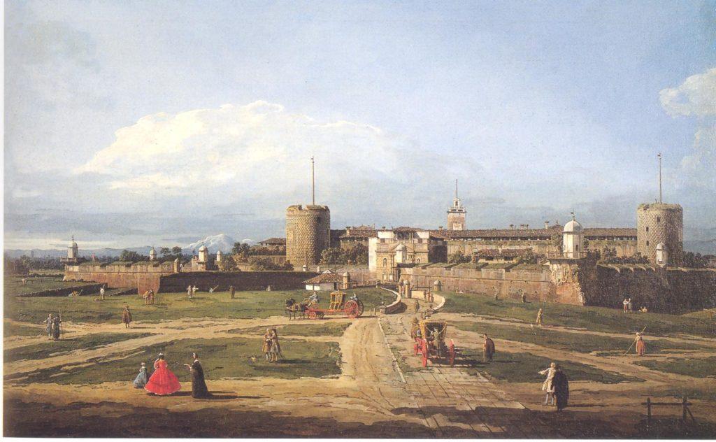 Bernardo Bellotto-Castello Sforzesco (Milano)