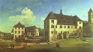 Bernardo Bellotto-Corte del Castello Konigstein (Dresda)