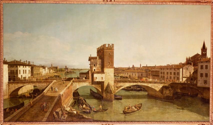 Bernardo Bellotto: Ponte delle Navi- Verona