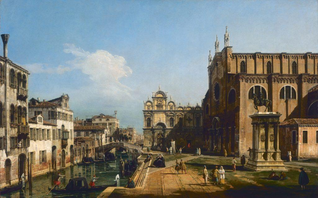 Bernardo Bellotto- Campo San Giovanni e Paolo (Venezia)