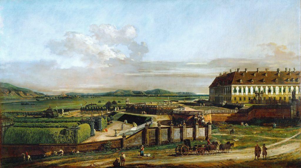 Bernardo Bellotto-Castello Imperiale di Vienna