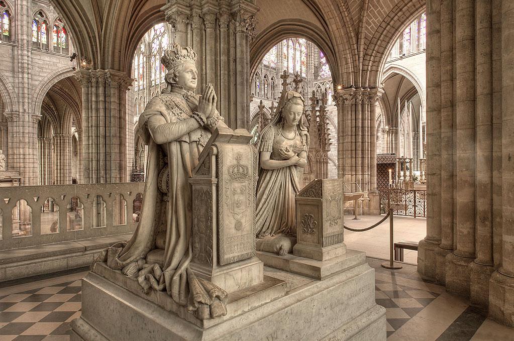 Chiesa di Saint Denis -Tombe di Luigi XVI e Maria Antonietta