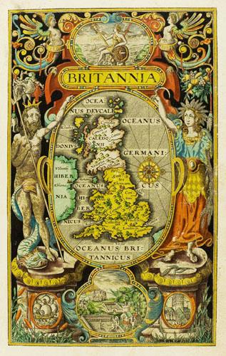 """"""" Britannia"""", l'opera principale dello storico di Camden"""