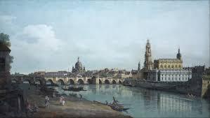 Bernardo  Bellotto Dresda -La Venezia del Nord (Paesaggio )