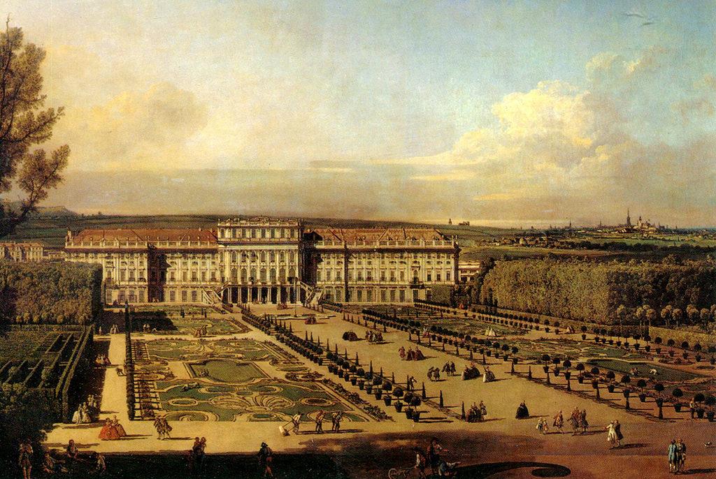 Bernardo Bellotto  Vienna Schonbrunn