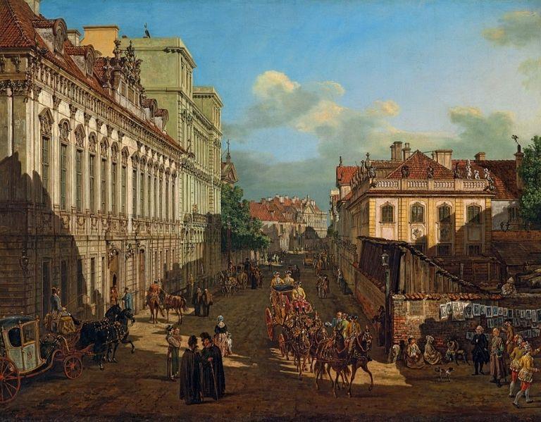 Bernardo  Bellotto_Miodowa_Street_in_Warsaw