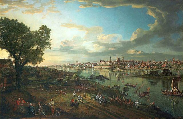 Bernardo Bellotto -Varsavia (Paesaggio )