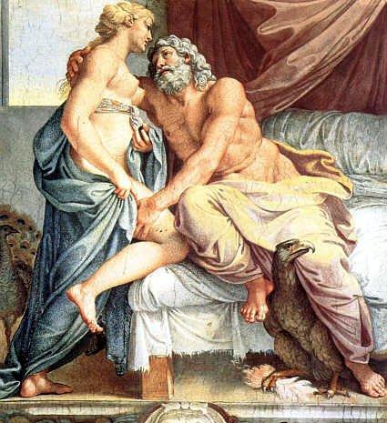 Circe e Ulisse (5)-Fine- Giove e Giunone, protettori di Ulisse