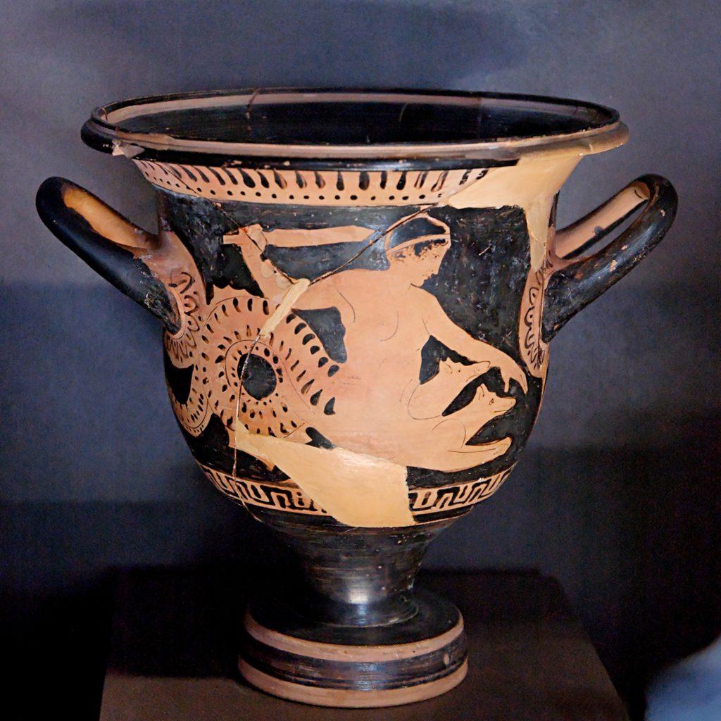 Platone! (1) Anfora Greca raffigurante Scilla e Cariddi (attuale Stretto di Messina)