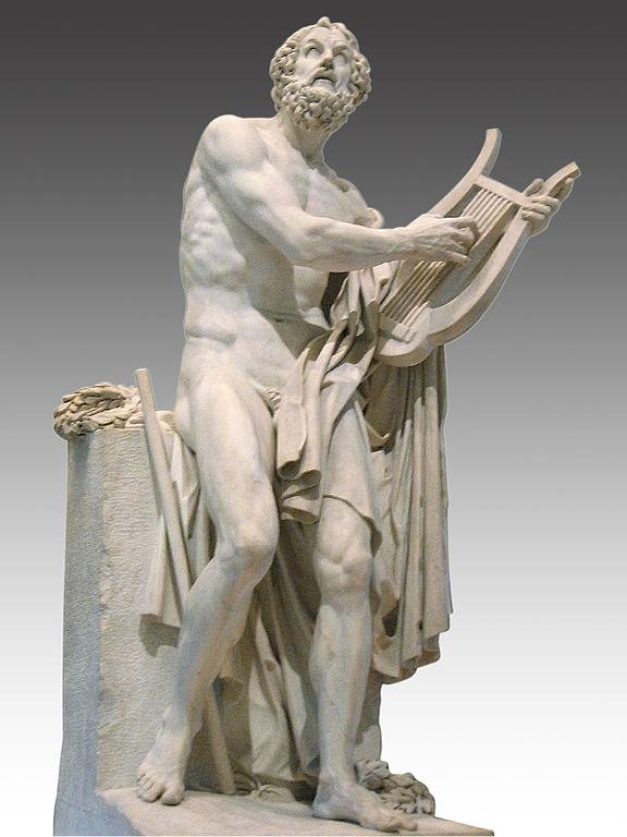 Laurent Roland: Omero (Louvre-Parigi)