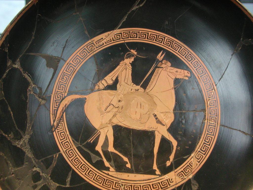 Eufronio Spedizione Ateniese contro Siracusa (Museo del Louvre)