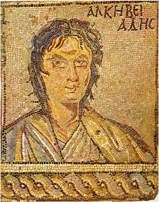 Mosaico_Alcibiade