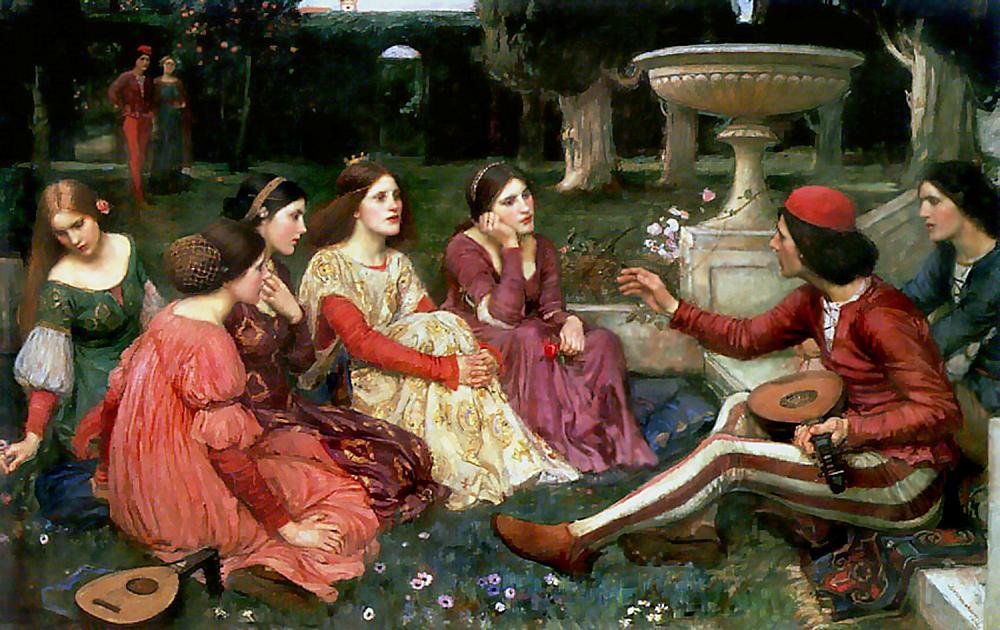 """Giovanni Boccaccio:""""Decamerone"""" - La Peste del 1348 a Firenze"""