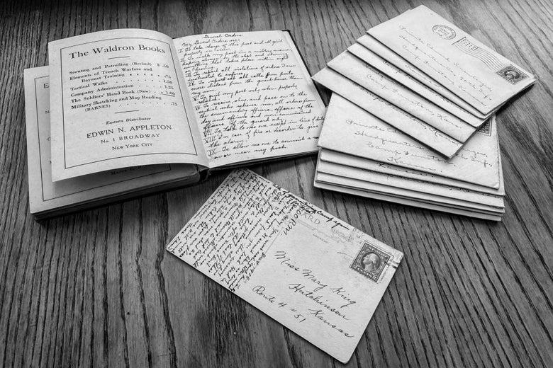 Camp Funston: lettere di una malato guarito ai propri famigliari