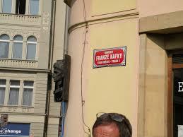 Targa ricordo di Kafka  in Praga