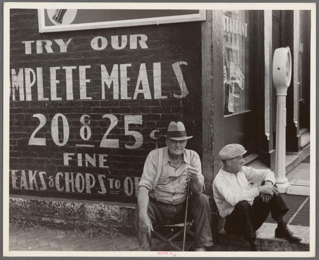 Ohio-Piccola città- Un quartiere popolare, dove la Grande Influenza colpì più pesantemente