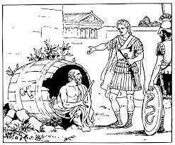 """Diogene e Alessandro (in """"Plutarco:Vita di Alessandro"""")"""