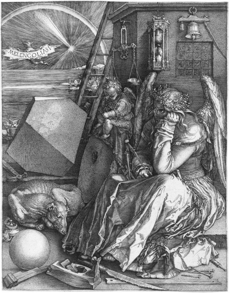Albrecht Dürer_:Melancolia (Incisione)