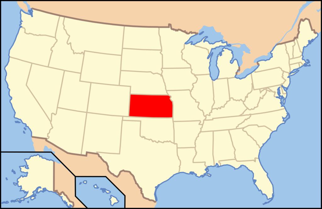 """Kansas: la """"Grande Influenza"""" pare sia iniziata a Camp Fulton, per estendersi subito allo Stato dell'Ohio, e quindi arrivare in Europa (a Brest) con i soldati americani che raggiungevano il Fronte."""