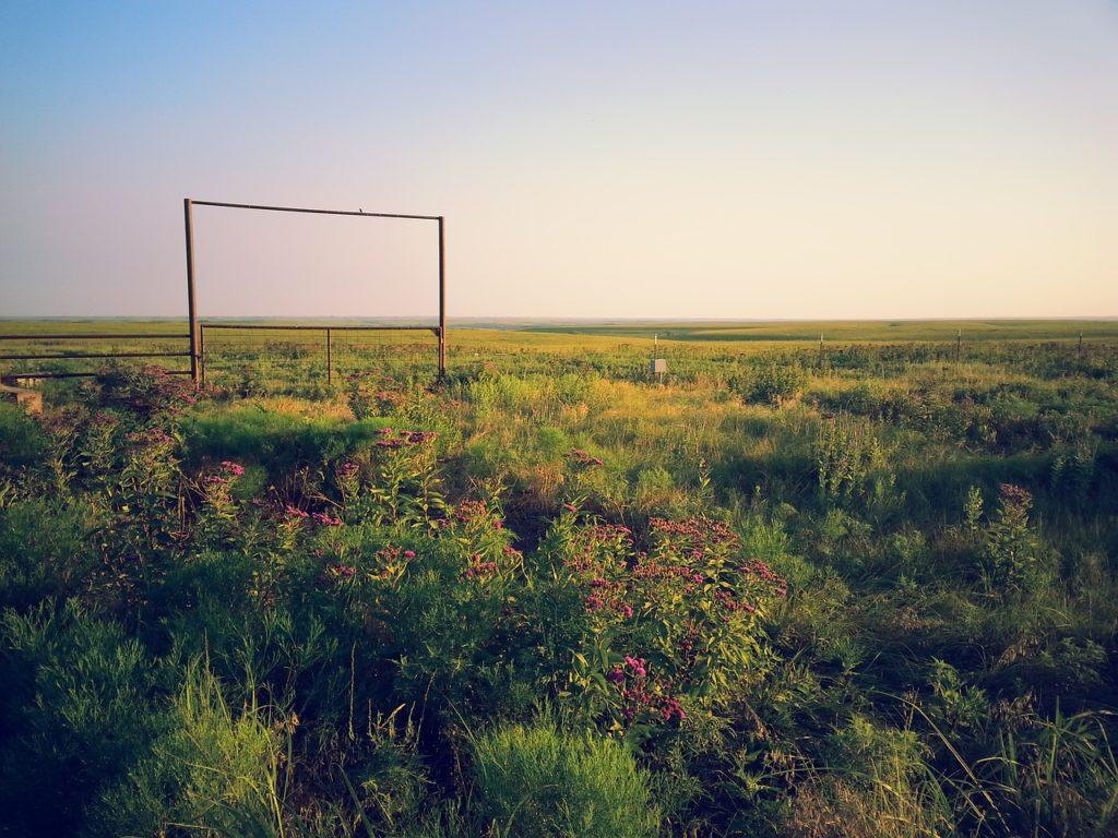 Kansas paesaggio campestre