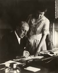 W.Wilson ed Edith moglie