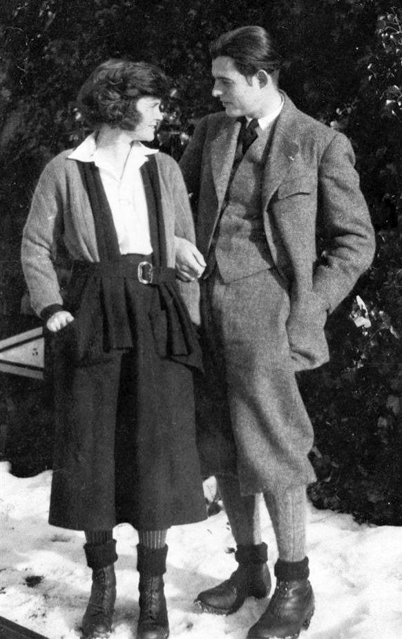 Ernest  Emingway ed Elisabeth Richardson Prima moglie