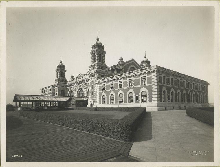Ellis Island Stazione Immigrazione