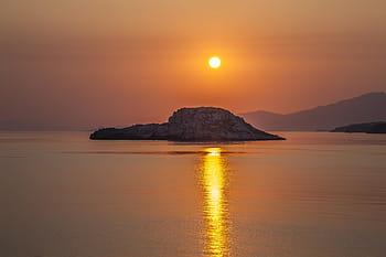 Lesbo:sorgere del sole