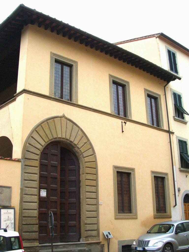 Arezzo-Casa natale di Francesco Petrarca