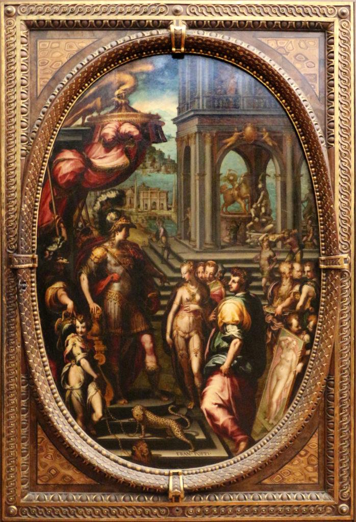 """""""Il Poppi"""" (pittore):  Studio Francesco I (Francia)"""