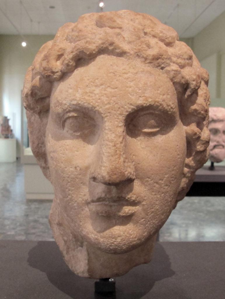 Ginevra (Svizzera): Busto di Alessandro Magno