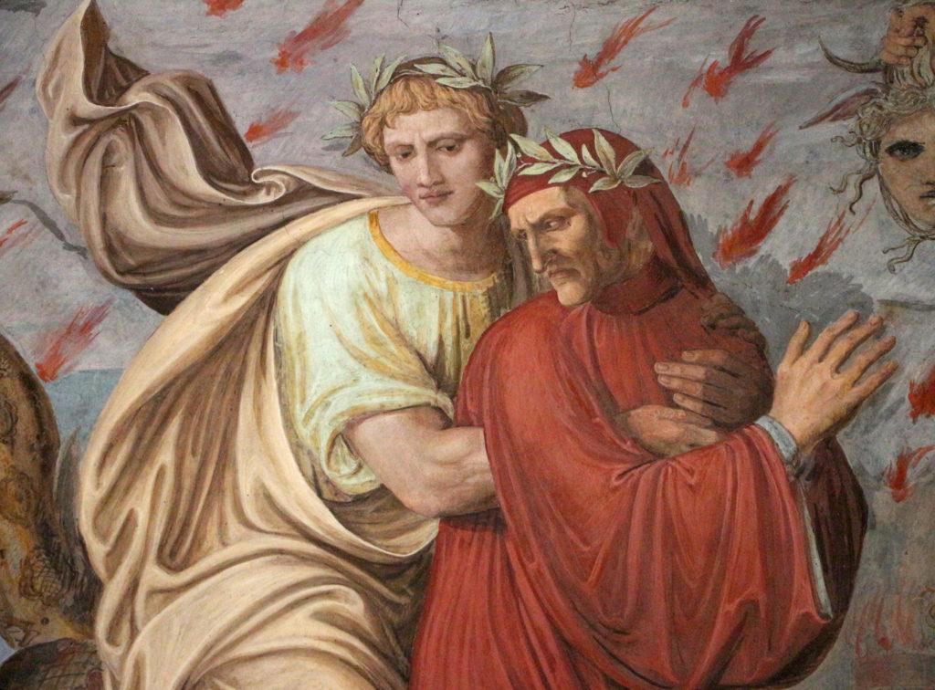 Joseph Anton Koch (1825-1828) : Inferno (Dante e Virgilio)