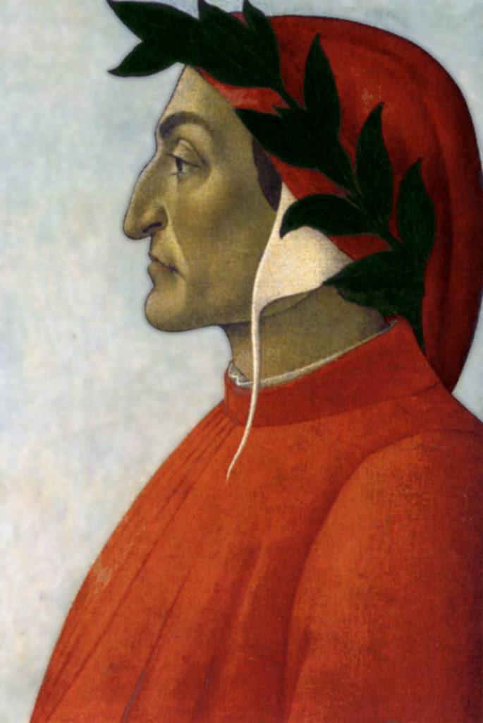 Sandro Botticelli: Ritratto di Dante