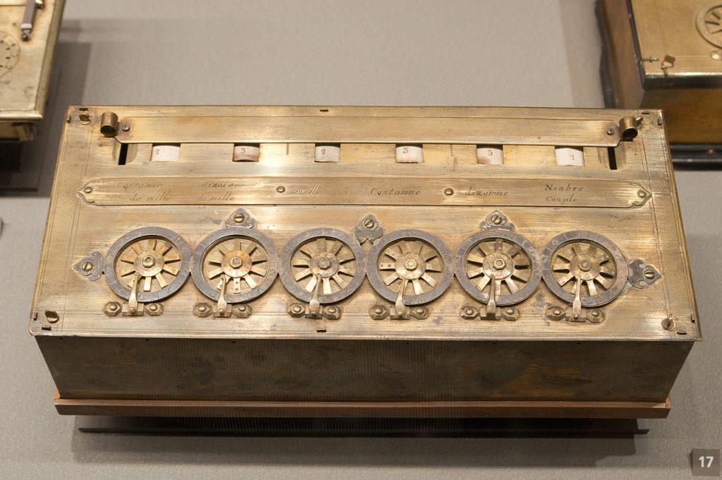 Blaise Pascal : Macchina Calcolatrice (Musée des Art et des Métiers)