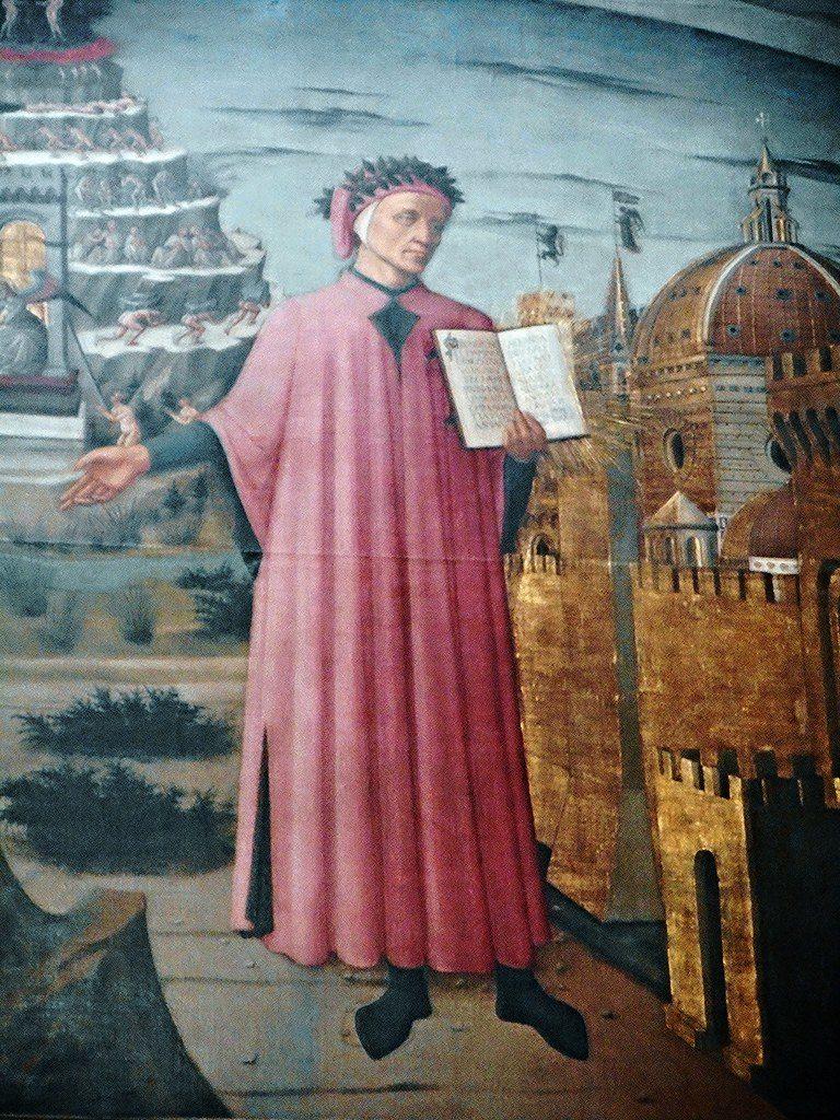 Santa Maria del Fiore Domenico di Michelino: Dante e l'Allegoria della Divina Commedia