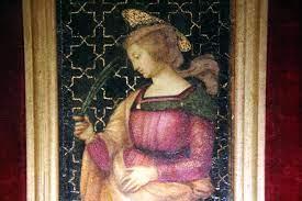 Raffaello:  Santa Caterina d'Alessandria