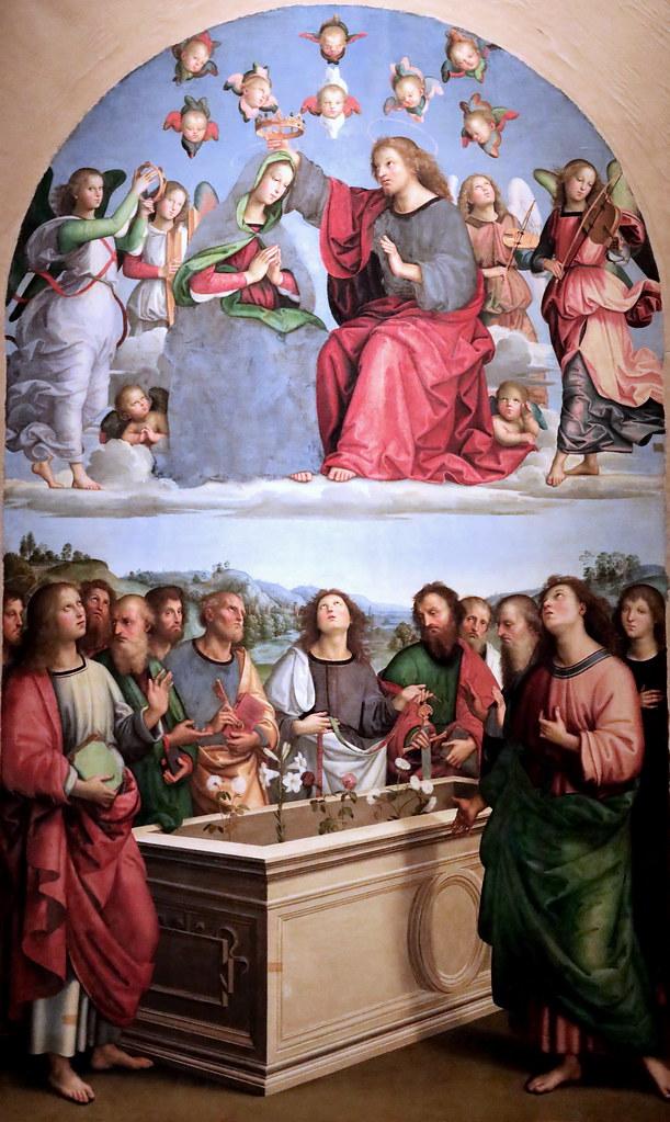 Ascensione di Gesù e Incoronazione della Vergine