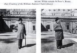 Oscar Wilde a  Roma 1897