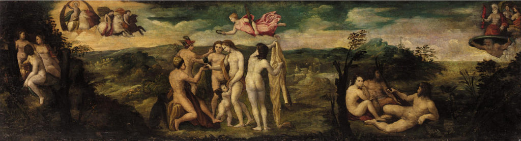 Raffaello-Sanzio: Il giudizio di Paride