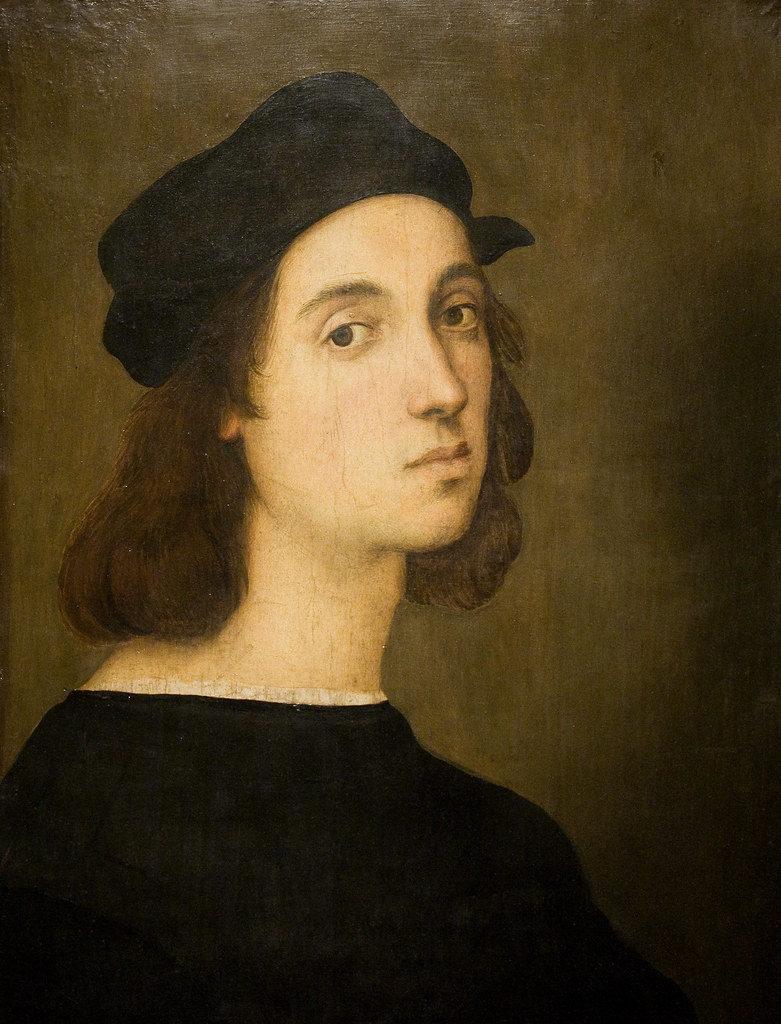 Raffaello Sanzio : Autoritratto