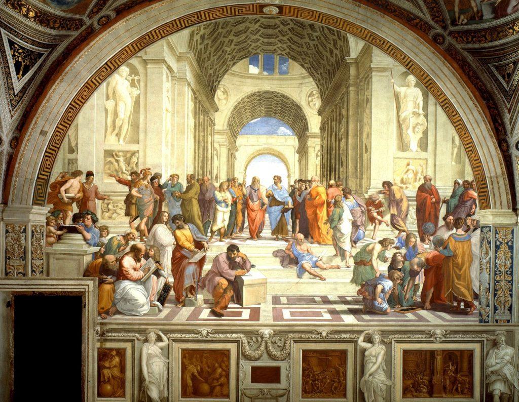 La Scuola Atene