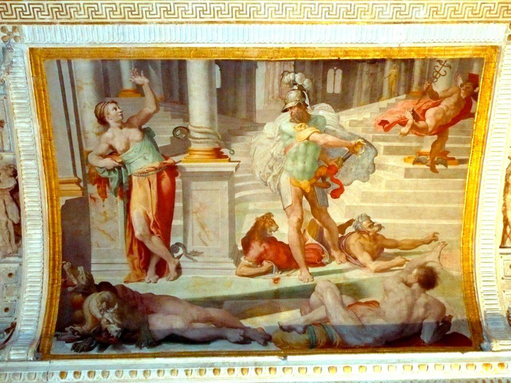 Pellegrino Tibaldi: Storia di Ulisse. Palazzo Poggi, Bologna