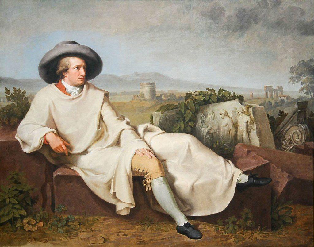 Johann Heinrich Wilhelm Tischbein:  Goethe