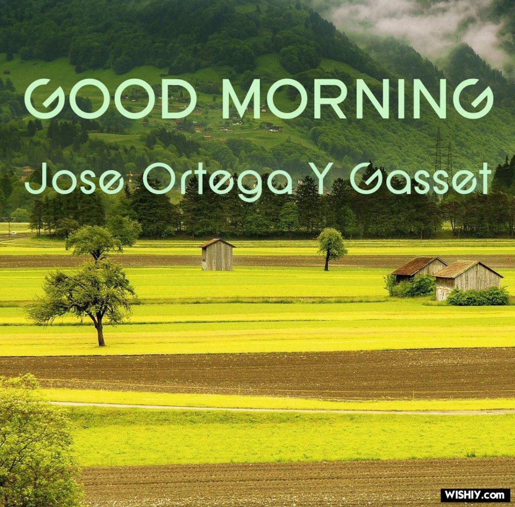 Omaggio a José Ortega y Gasset